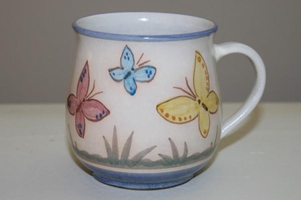 Kindertasse, Schmetterling