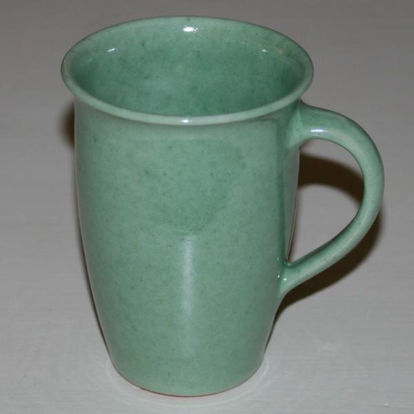 Tasse grün, schlank