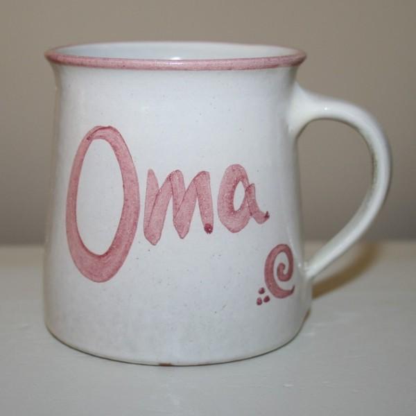 Tasse, Oma